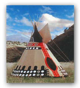 Tipi tepee teepee manufacturers for Reliable tipi